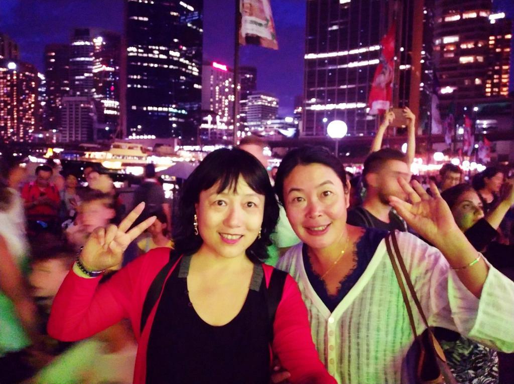 悉尼行摄之三——我在歌剧院旁寻找十二生肖彩灯