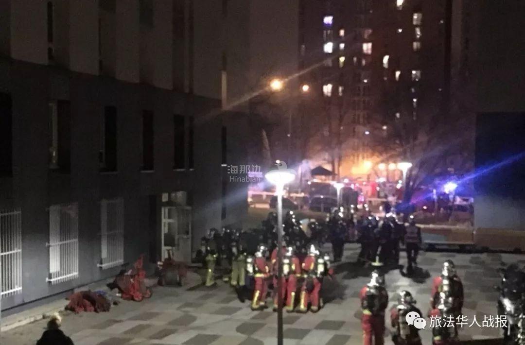 巴黎北郊昨夜发生严重火灾!三死五伤
