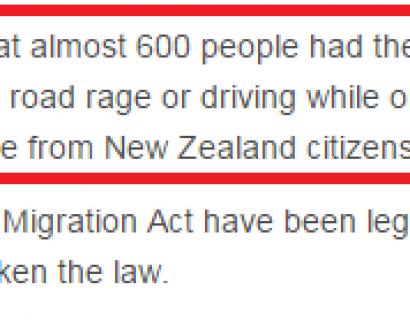 曝光!澳洲移民局一年取消600人永居权!