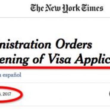 重磅!川普签新令严查所有签证申签人,名额缩减!