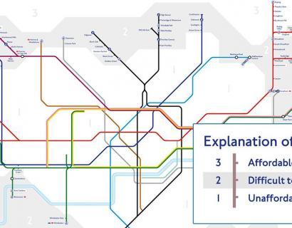 看了这几张房价地铁图,哭着说要搬出伦敦