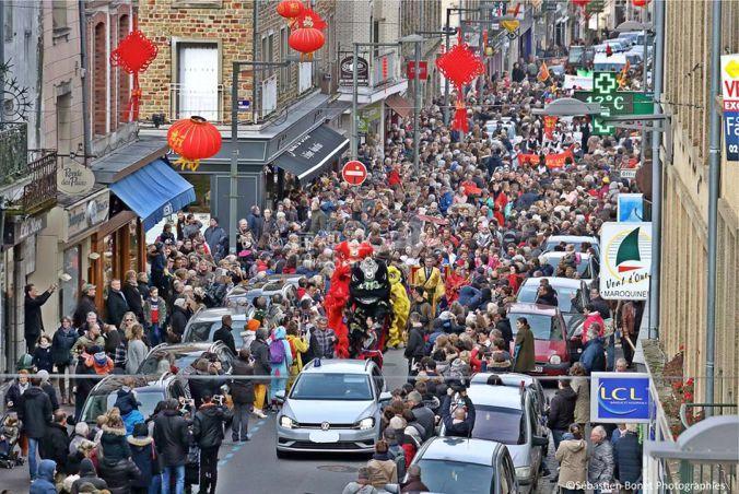 2019首届《中国风-创意烟花中国年》大型节日庆典活动在法国库唐斯市隆重举行