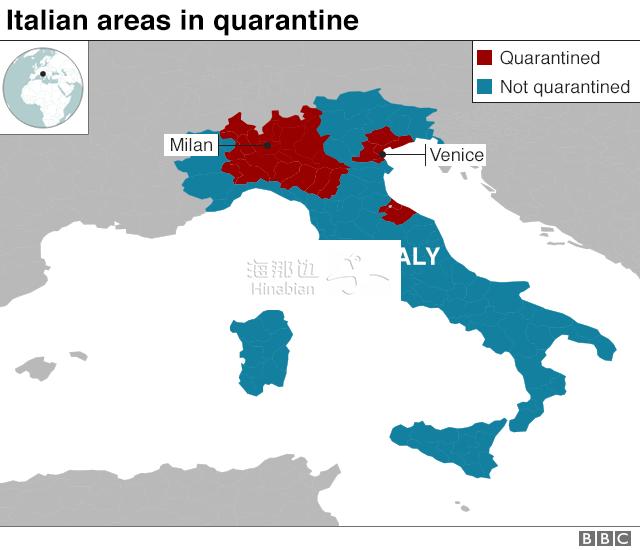 中国封一省,意大利封全国,然而至暗时刻还是来了