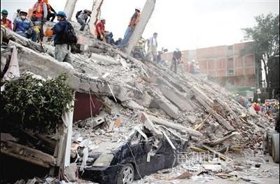 墨西哥地震至少245人亡 全国哀悼3天