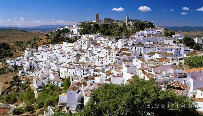 童话般的西班牙白色小镇,安达卢西亚的阿拉伯风景