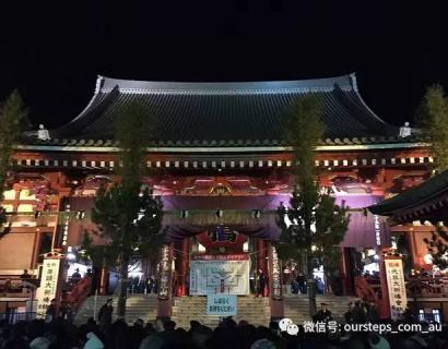 体验东京:不一样的跨年之旅