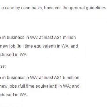 西澳紧随昆州步伐 改动商业天才移民132签证州担要求