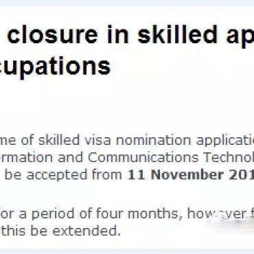 重磅消息!计算机专业将无缘部分190签证申请