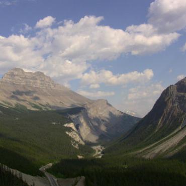 加拿大旅游第一站--落基山脉之三(JASPER+冰原雪山)