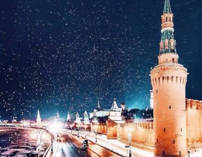 冬日莫斯科,美如童话