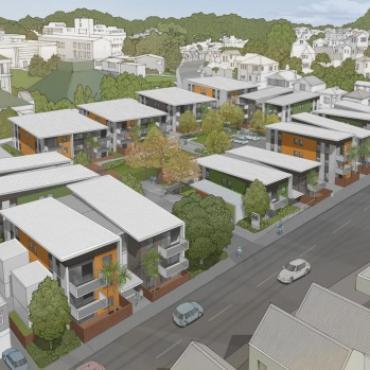 #新西兰房市新闻#你还在蜗居吗?为缓解住房紧张,惠灵顿要建新的公寓房喽,想买房或者换地方居住的走起来