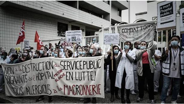 【时事】法国医护工作者再次走上街头,再争它几个亿!