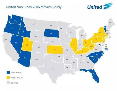 2016,美国人口迁移报告