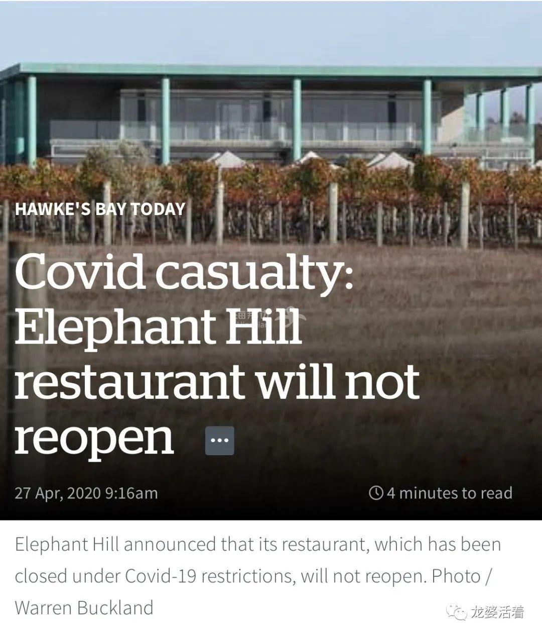 【新西兰】疫情下封国禁足,'贵妇'也没能挺住......Elephant Hill