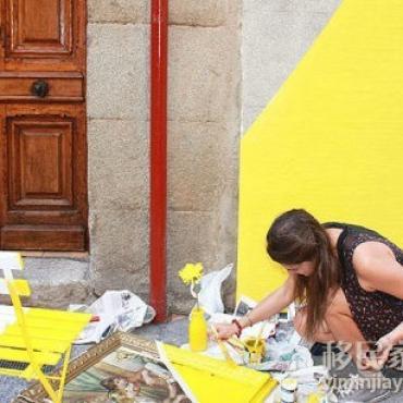 马德里一家餐馆的小巧思,满满正能量~