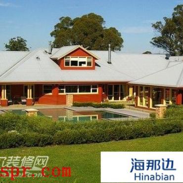 澳大利亚现代牧场大宅 七栖身宅