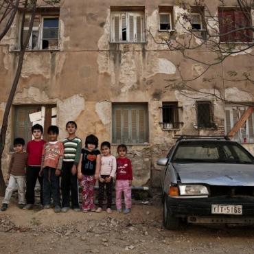 希腊雅典的贫民社区