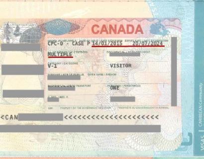 圣基茨护照申请加拿大签证华丽回归!有图有真相