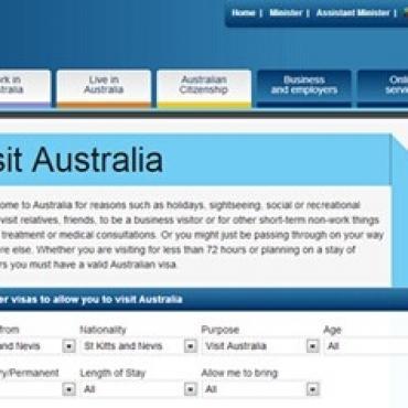安提瓜护照如何申请澳大利亚电子签?