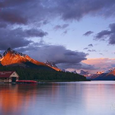 加拿大旅游第一站--落基山脉之五 (特辑-风光摄影篇)