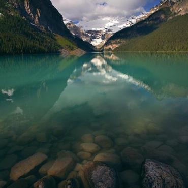 加拿大旅游第一站--落基山脉之二(路易湖)
