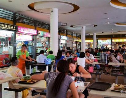 新加坡的农贸市场——巴刹