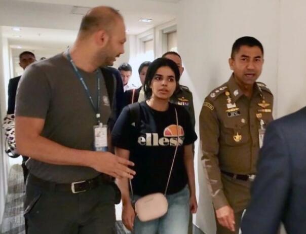 引起全球关注的沙特出逃少女将被加拿大接收