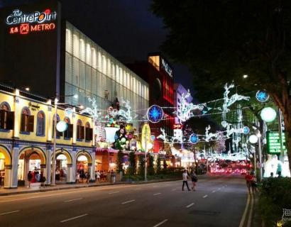 #圣诞随拍#新加坡乌节路