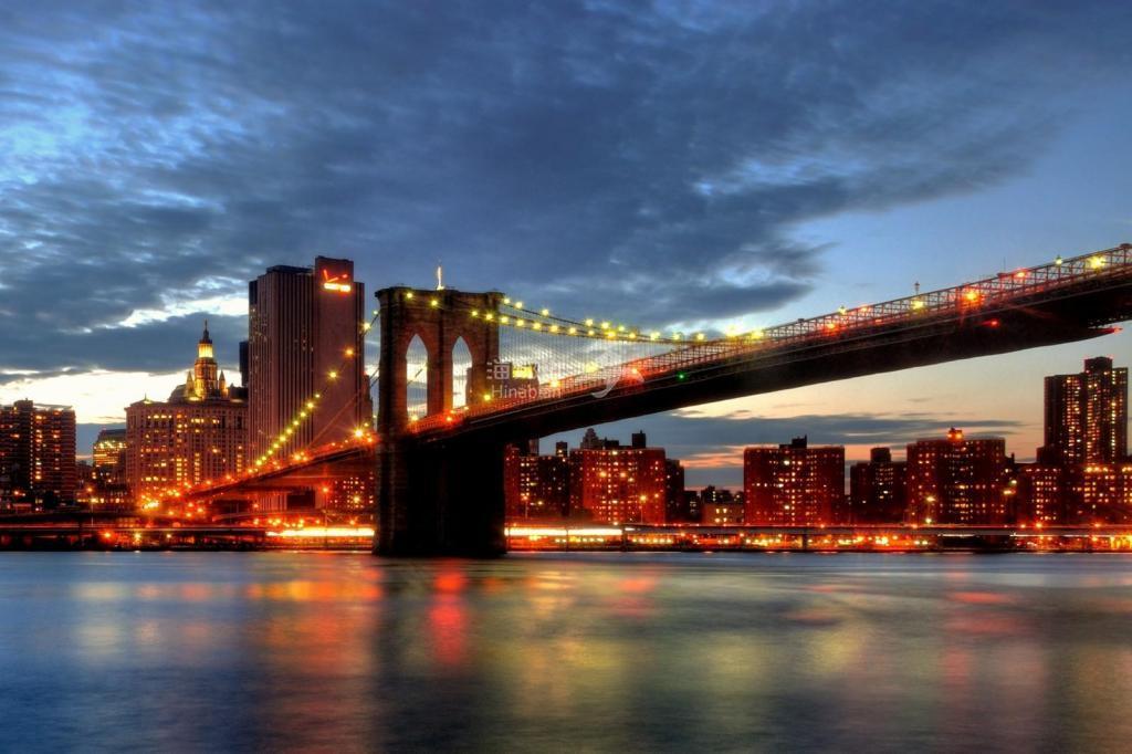 一首歌,一座城——华美至极的纽约布鲁克林大桥