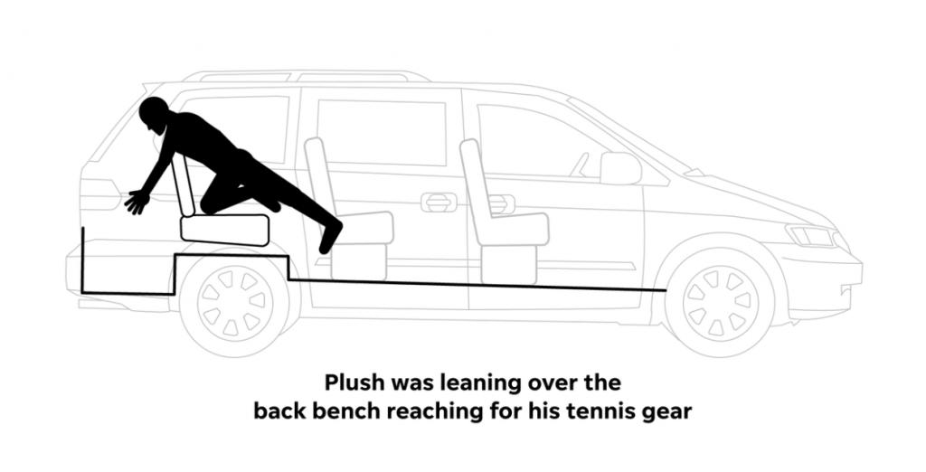 Minivan第三排座椅再次引发严重事故,家长一定要小心!