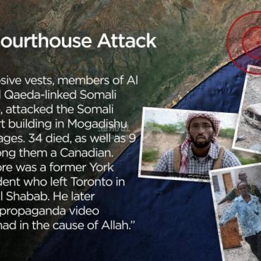 加拿大恐怖份子少?前往海外谋杀超300人