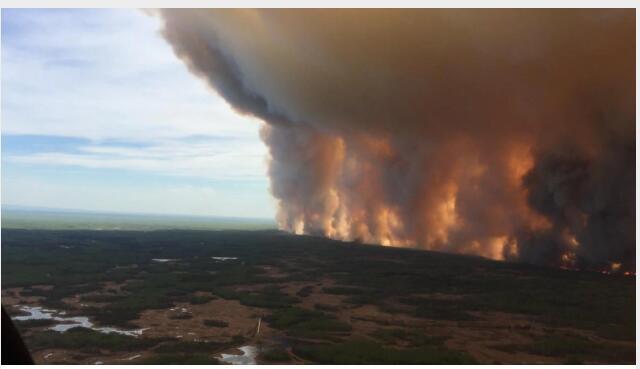 林火又来了,阿尔伯塔省 4000 多居民被疏散