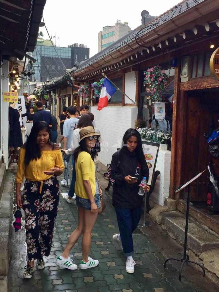 【婆在韩国】走街串巷为了体验韩风韩气